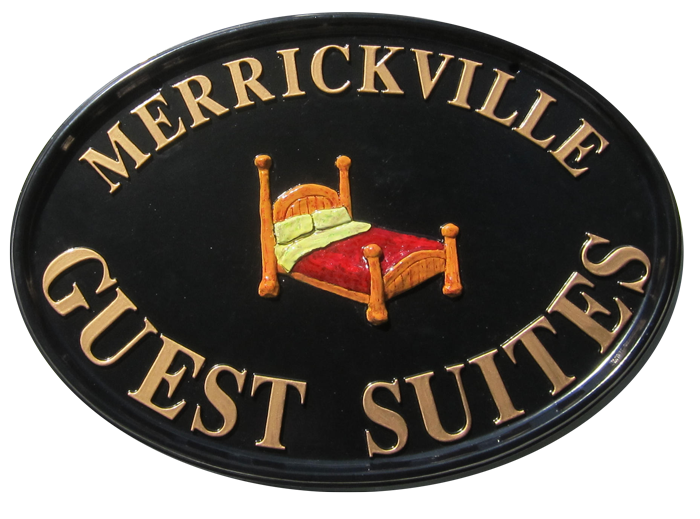 Merrickville Guest Suites sign